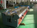 Multi hole cable duct PVC profile production line with Haul off Vacuum Calibration Table